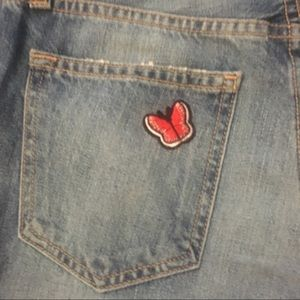 Joie Jeans - NWOT-Joie Jeans with floral embellishments